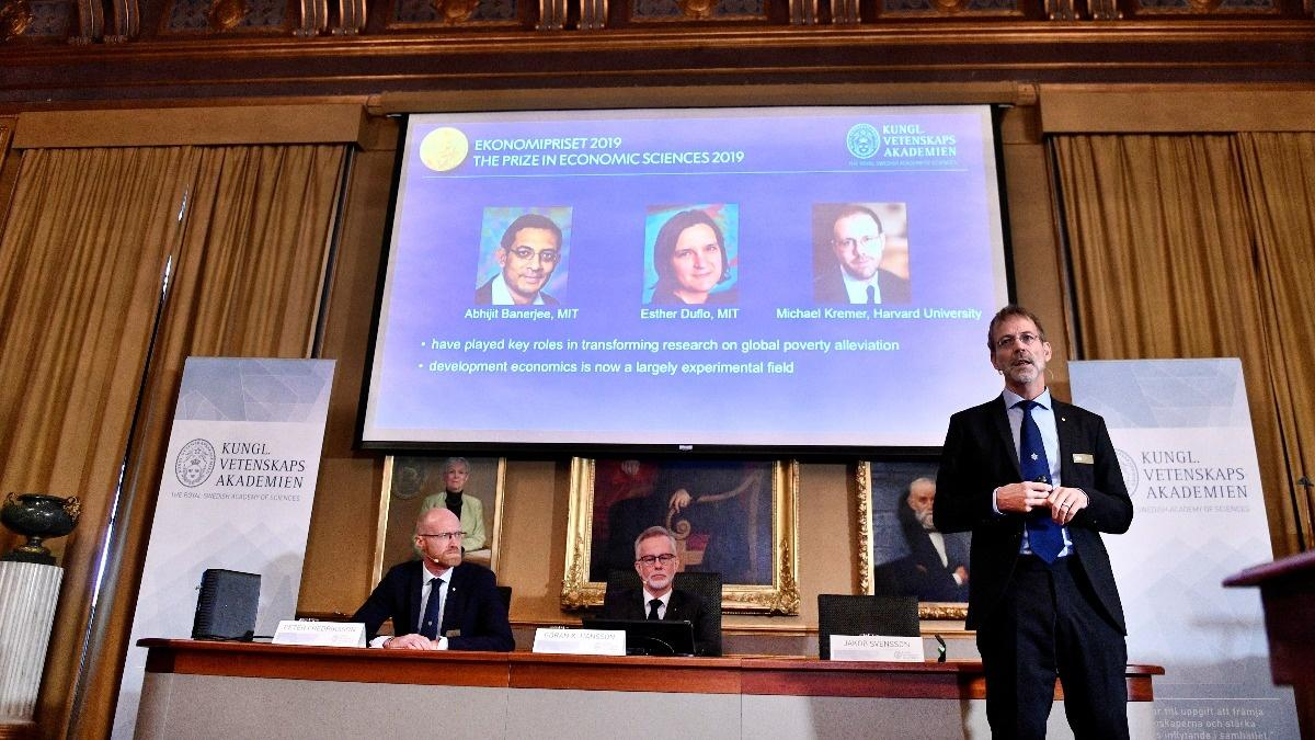 Pioneers in fight against poverty win Nobel