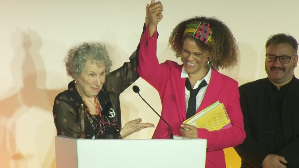 Oldest and first black female Booker Prize winners