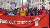 Looming strike forces Chicago public school closure