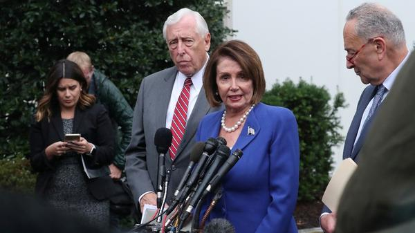 Trump, Democrats face off on Syria after U.S. House vote