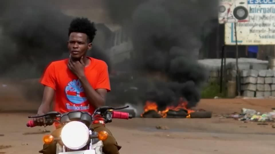 At least nine dead in Guinea protests