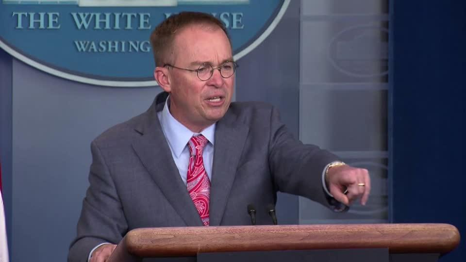 Mulvaney's words on Ukraine undercut impeachment strategy, rattle allies
