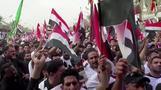 الشيعة العراقيون يحتجون على الفساد والبطالة خلال أربعينية الإمام الحسين