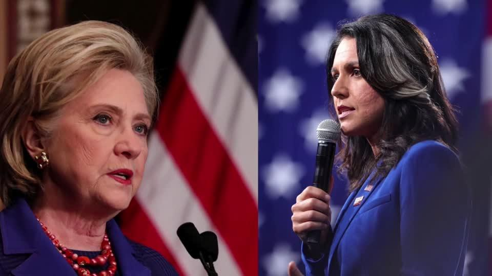 Gabbard calls Clinton 'personification of rot'