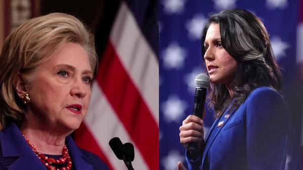 Gabbard calls Clinton 'personification of rot'