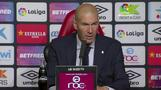 Zidane refuses to use the absentees as excuse for Real Madrid's loss to Real Mallorca
