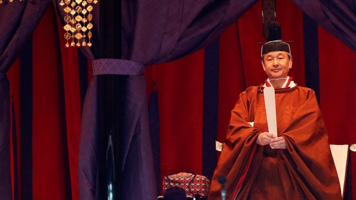 Japan's new emperor takes the throne