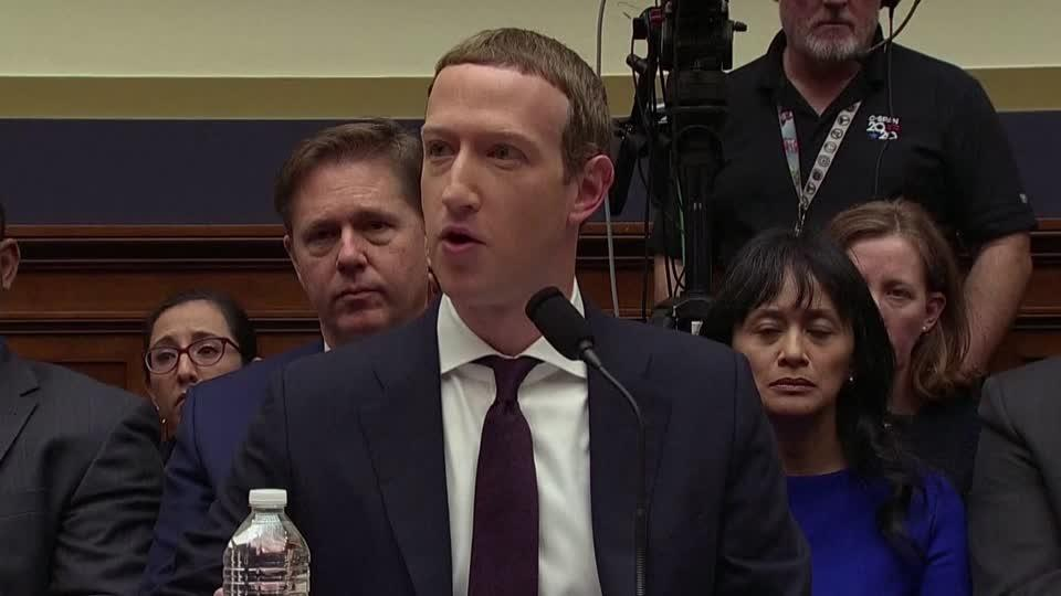 Zuckerberg reassures Congress on his digital currency
