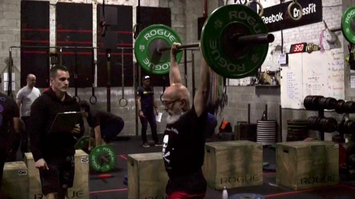 80-year-old competes with younger fitness buffs