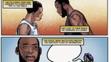 LeBron James' life gets comic book treatment