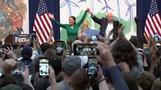 Sanders kritisiert das Bloomberg-Lager