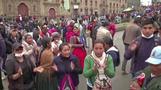 Morales supporters protest in La Paz