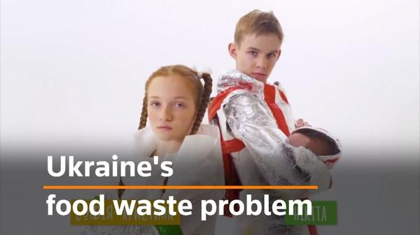 The Ukrainian teens fighting against food waste