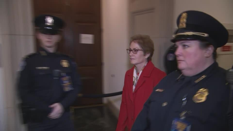 Yovanovitch arrives in Capitol for impeachment hearing