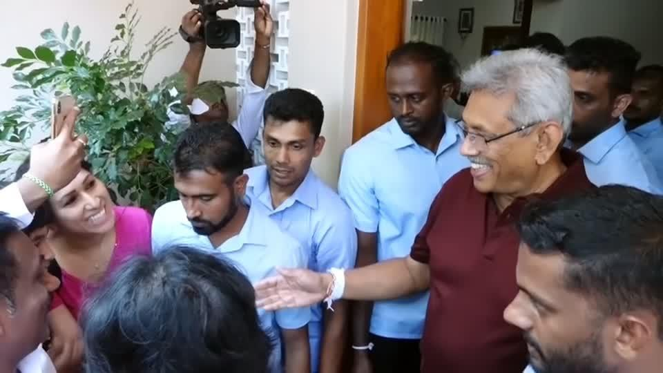 Sri Lanka's new president: war hero or criminal?
