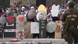 Neue Zusammenstöße in Chile