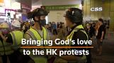Hong Kong pastor 'brings God's love' and saline to protesters