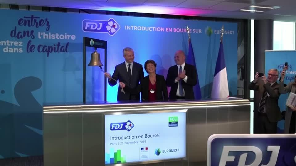 FDJ shares surge in French lottery group's market debut