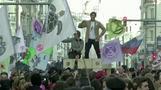 تزامنا مع قمة الأمم المتحدة للمناخ.. عصيان مدني راقص في مدريد