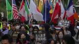 Hongkonger versammeln sich zu erneuten Protesten