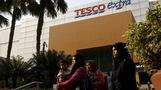 Tesco shares jump on possible Asia unit sale