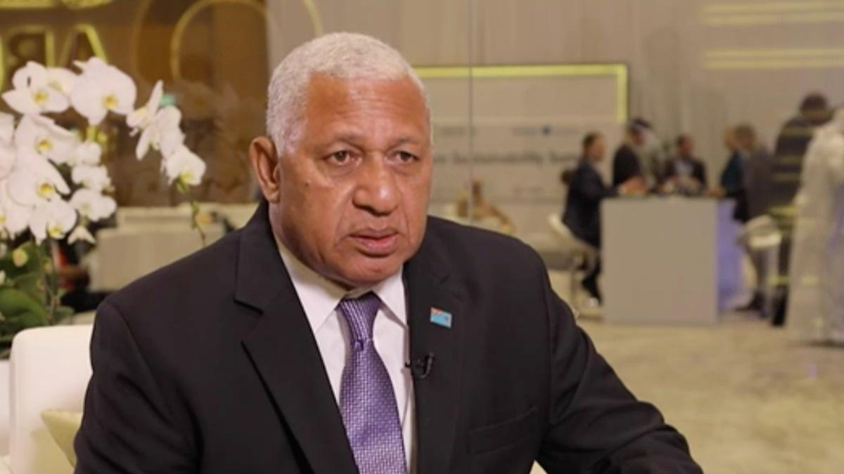 'We are moving people away from the coastline': Fiji PM