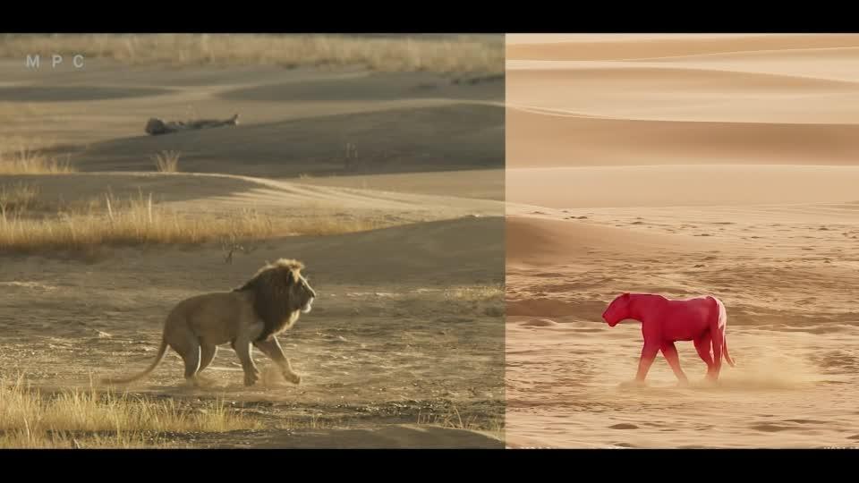 'The Lion King' visual effects get an Oscar nod