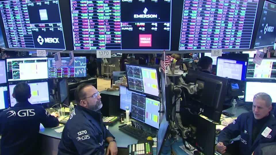Wall Street pulls back on virus outbreak worries