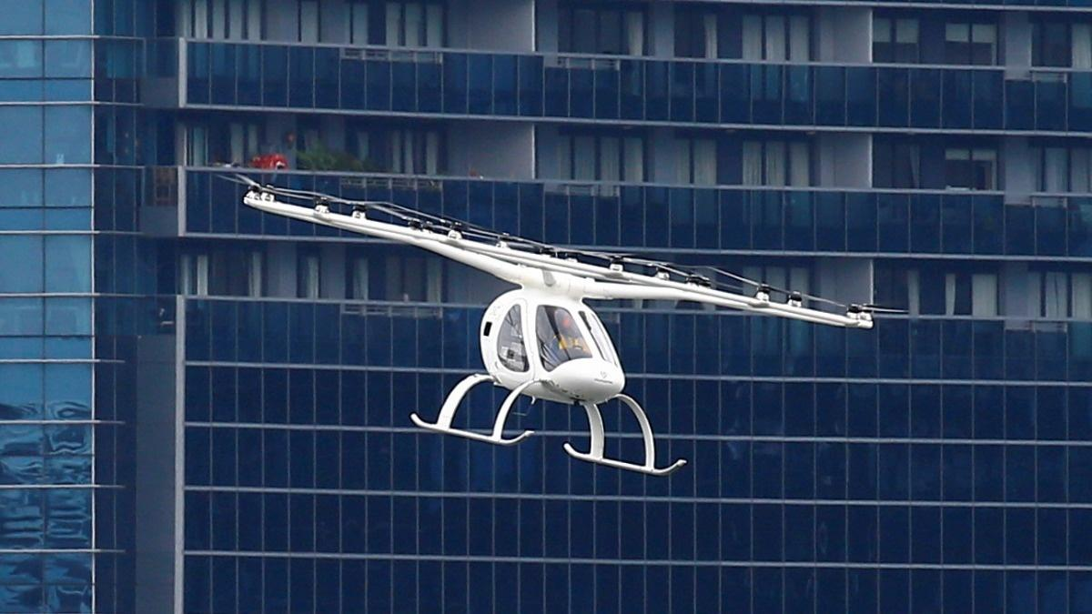 Volocopter air taxi fleet ready by 2022 -CEO