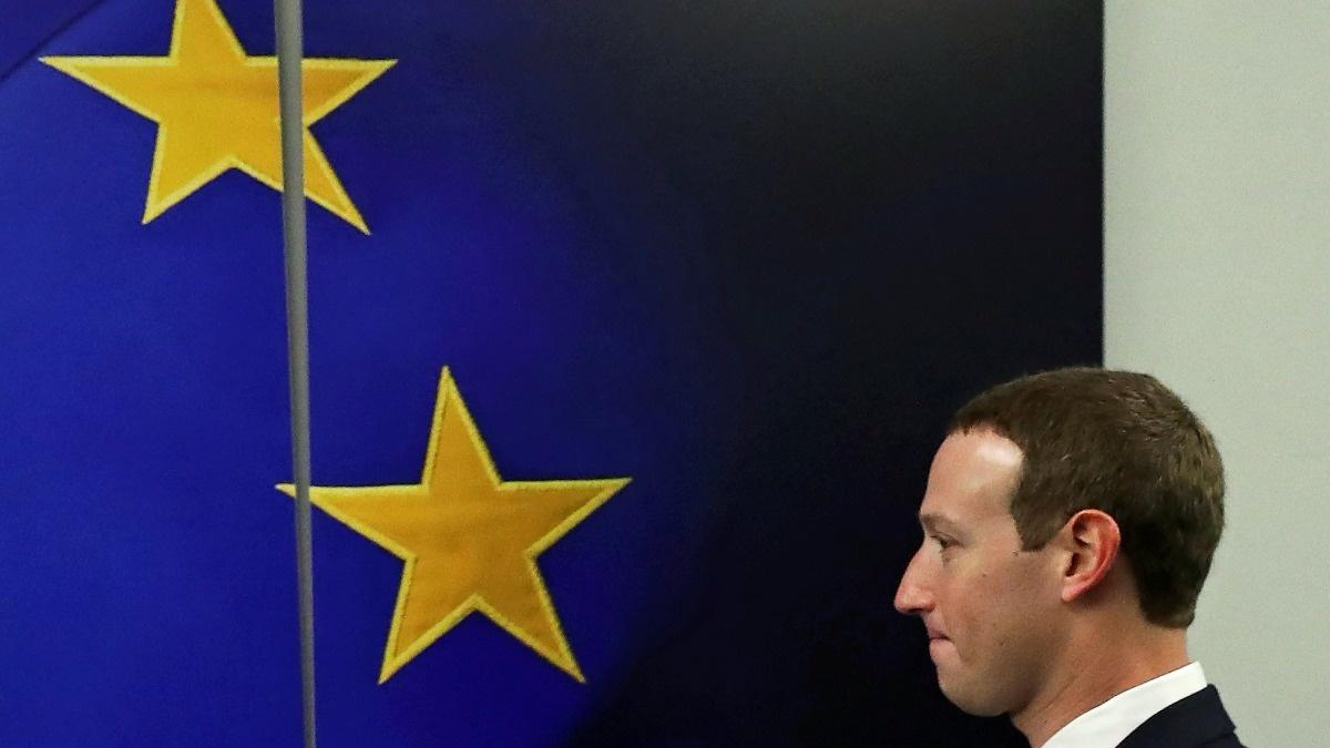 Zuckerberg in Brussels ahead of antitrust proposals