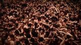 伝統の奇祭「裸祭り」、ふんどし姿の男たち1万人 岡山(字幕・17日)
