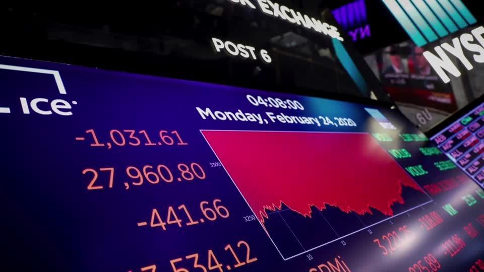 Wall Street plunges as coronavirus spreads