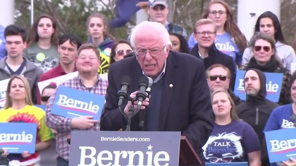 Sanders slams Trump over coronavirus response