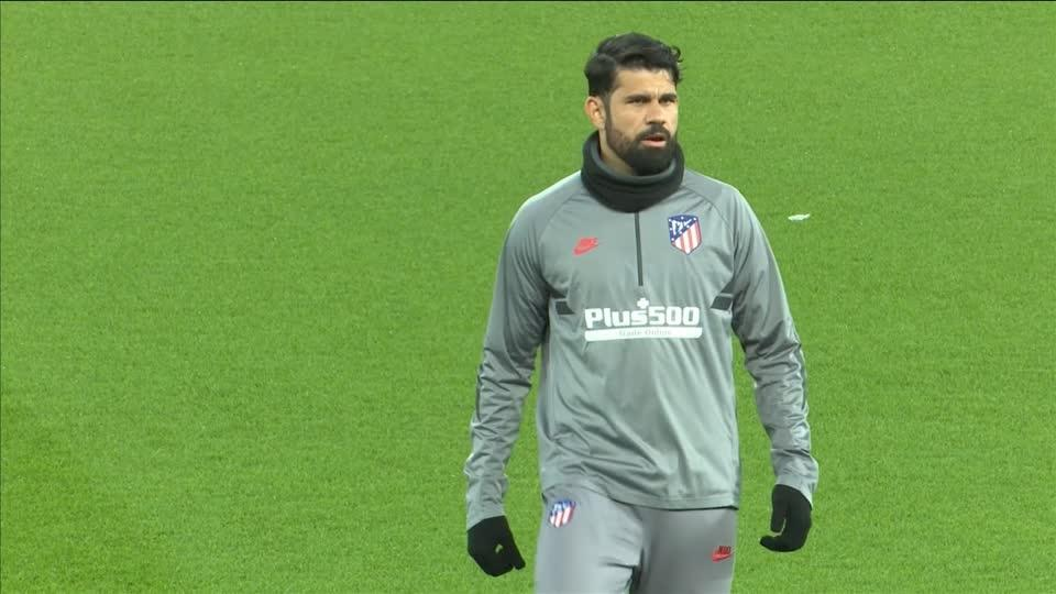 Atletico gear up for crunch Liverpool game
