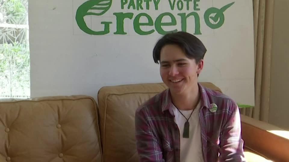 New Zealand activist flies flag of environmental revolution with election run