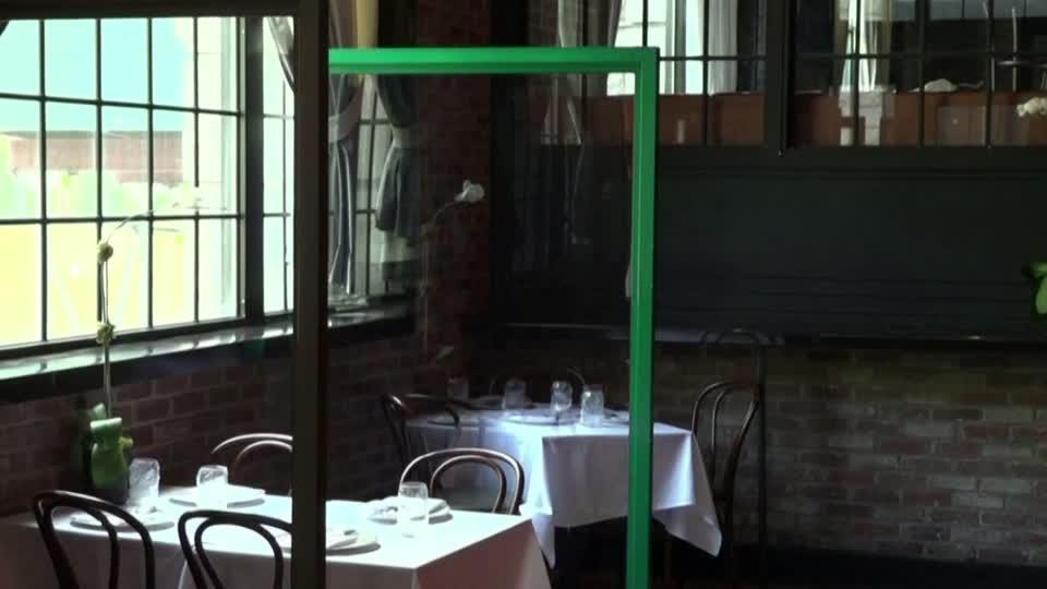 Partitions, temperature scanners to greet NYC diners