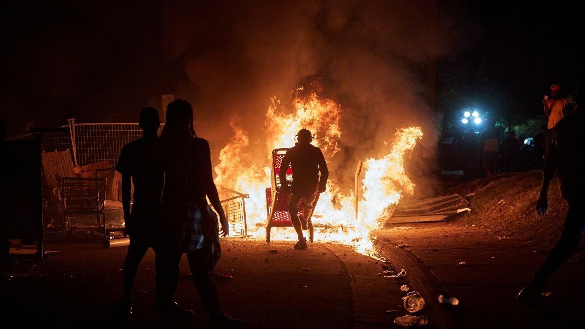 'Outside agitators' blamed for violent protest wave