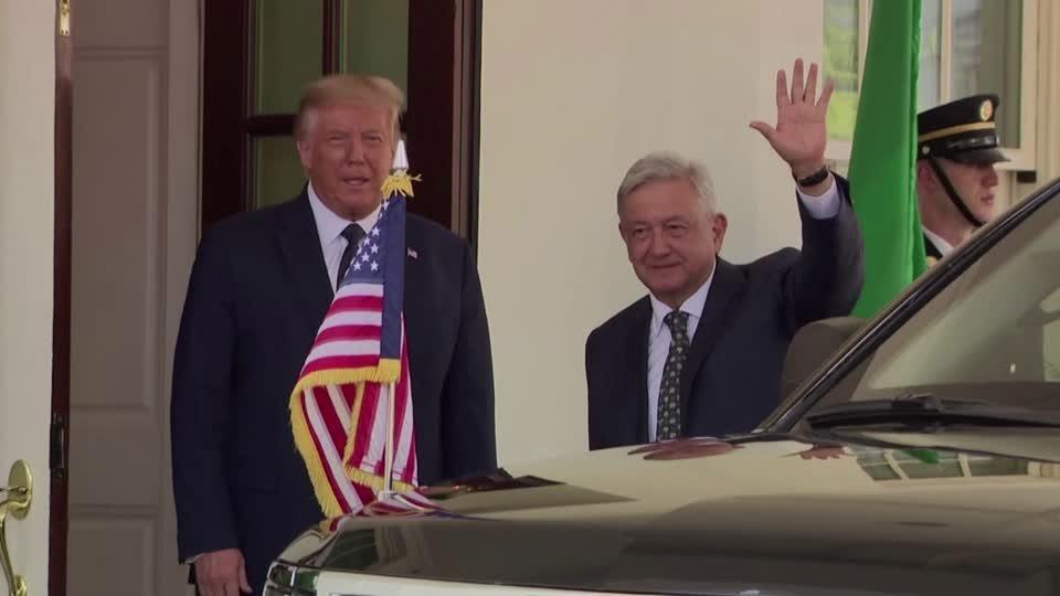 Mexico's AMLO lauds Trump despite past insults