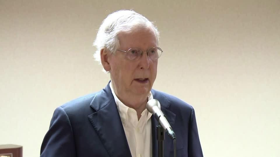 McConnell says he has 'total' confidence in Fauci