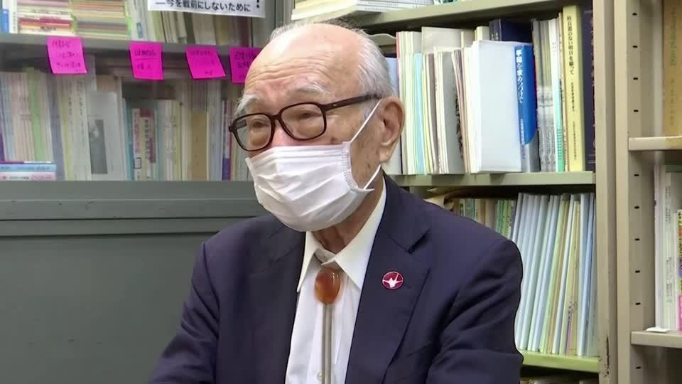 Nagasaki survivor continues nuclear disarmament fight