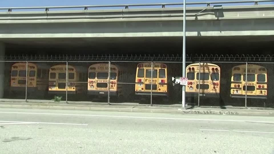 LA school bus driver faces 'real rough time'