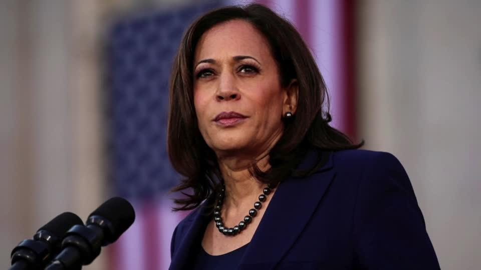 Harris an elusive election target for Trump