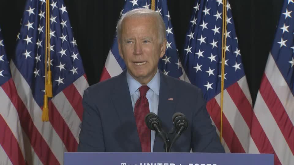 Biden: 'Be a patriot', wear a mask