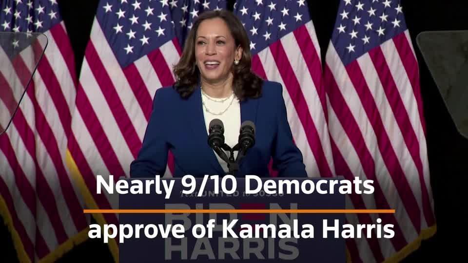How Harris helps Biden, by the numbers