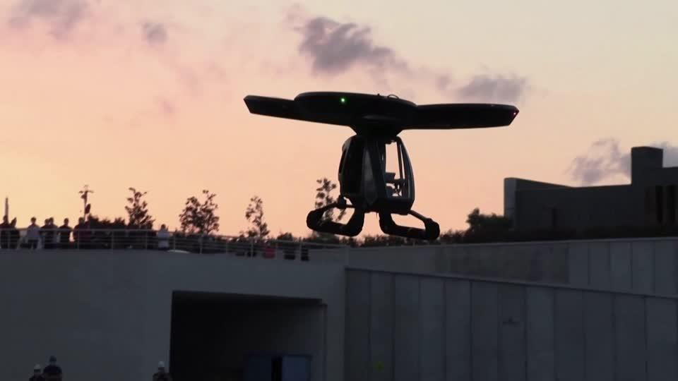 Turkey shows off first 'flying car' prototype
