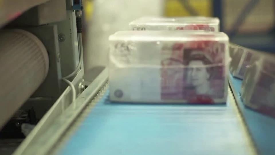 Missing: $65 billion in British bank notes