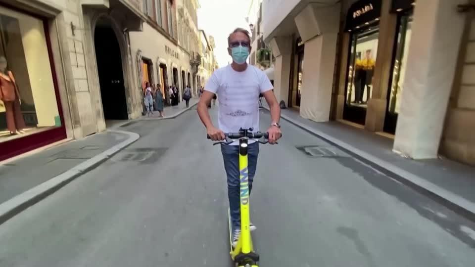 E-scooters conquer but divide Rome