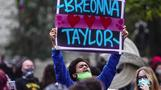 Cries of 'Breonna Taylor!' from coast to coast