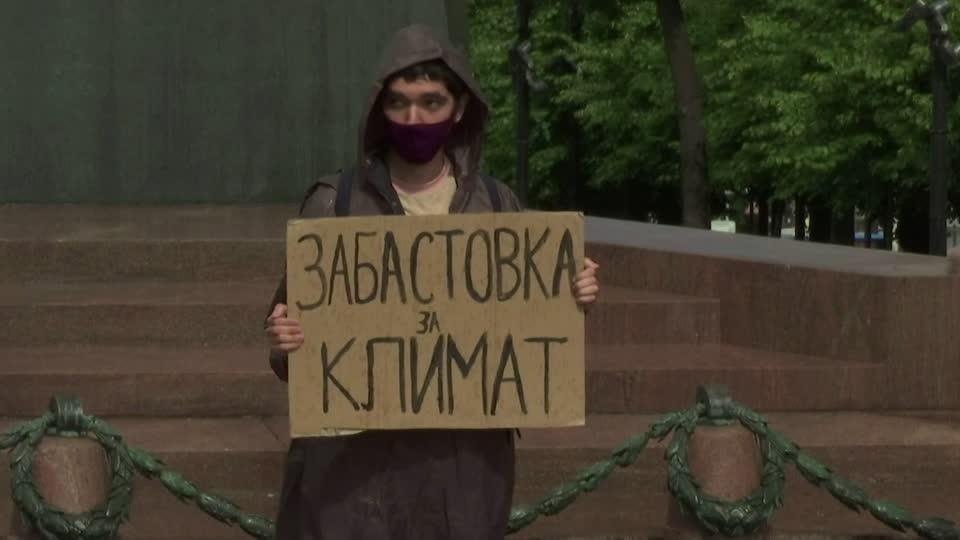The lonely mission of a Russian climate activist
