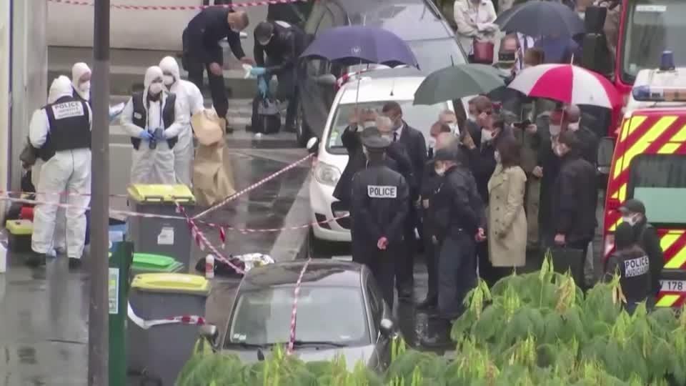 Stabbing near former Charlie Hebdo offices in Paris